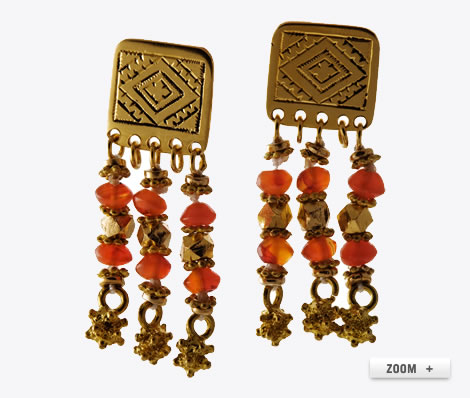 Iman earrings